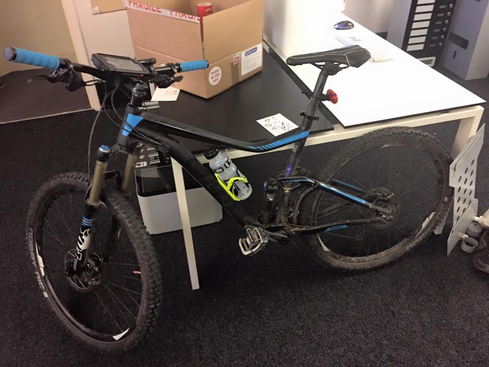 Bike ready to go