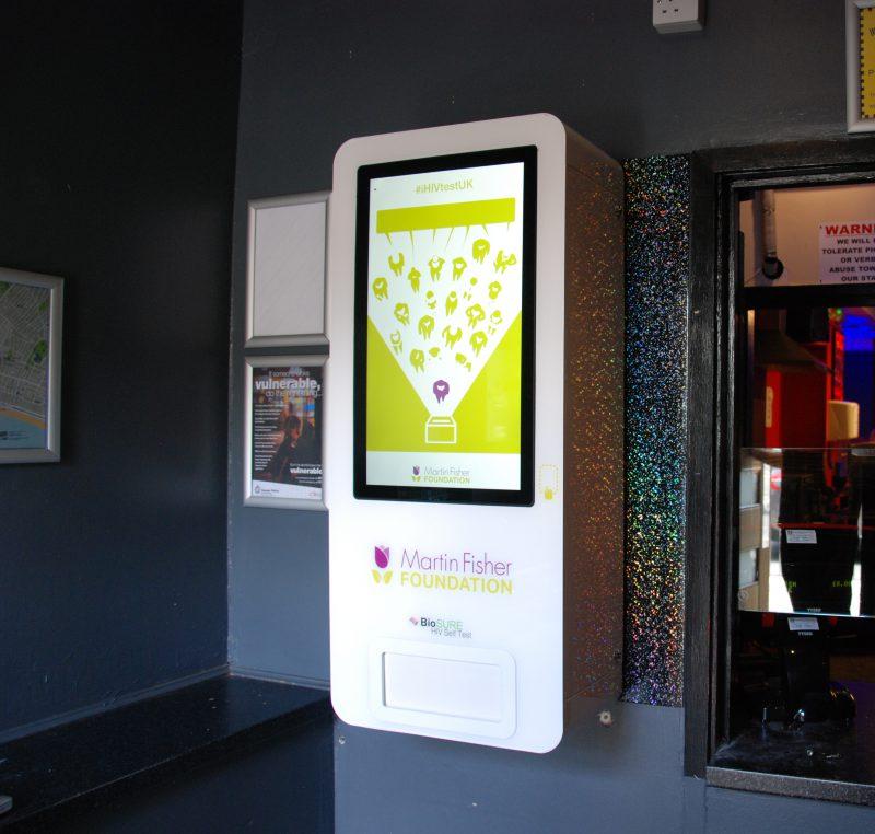 Martin Fisher - NHS - Biosure - Vending Machine