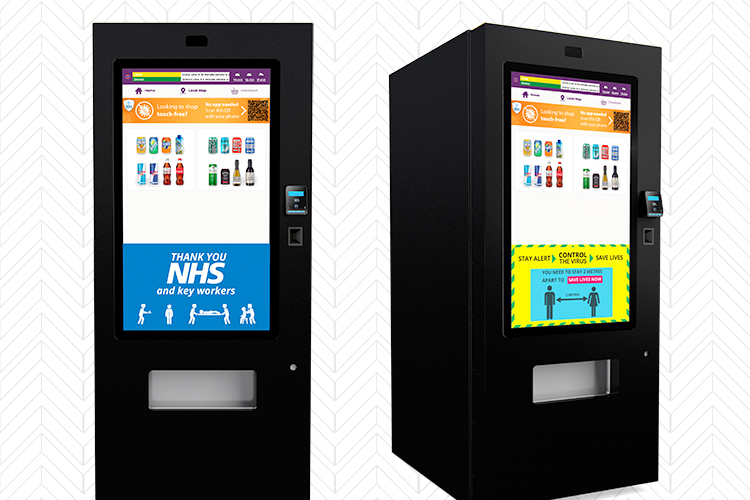 Touchless alcohol vending machines for hotels