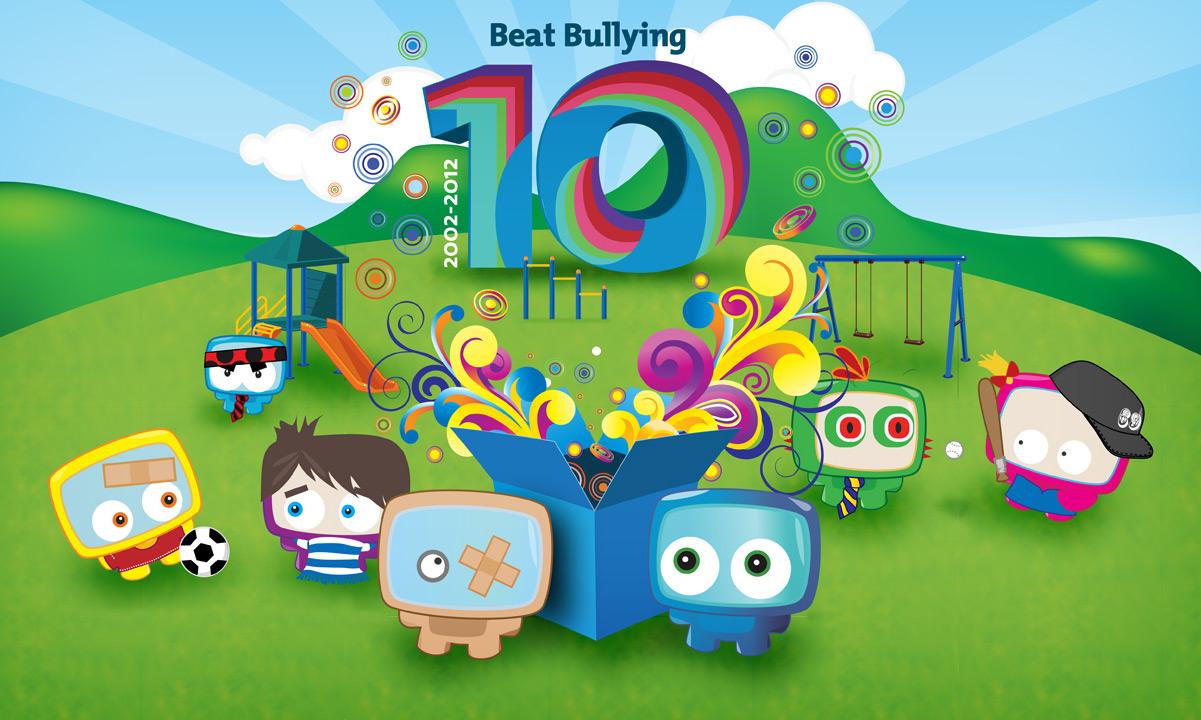 Beat Bullying 10 years graphic