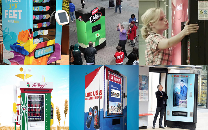 Viral Marketing Vending Machines